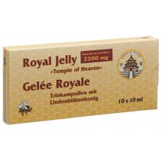 Royal jelly royal jelly trinkamp temple of heaven 10 x 10 ml