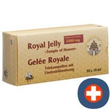Royal jelly royal jelly trinkamp temple of heaven 30 x 10 ml