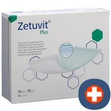 Zetuvit Plus absorption Association 10x10cm 10 pcs