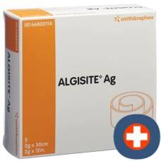 Algisite ag alginate compresses 2x30cm 5 pcs