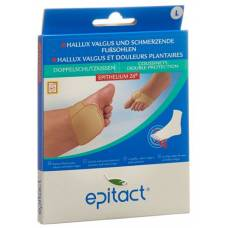 Epitact foot cushions double protection l> 27cm 1 pair