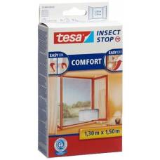 Tesa comfort flyscreen window 1.3x1.5m white