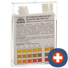 Biosana indicator strips ph 4.5-9.25 25 pcs