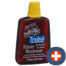 Trybol herbal mouthwash travel bottle 20 ml