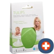 Ardo tulips brusthütchen l silicone storage box 2 pcs
