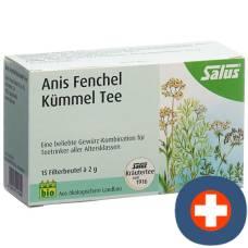 Salus anis fennel caraway bio btl 15 pcs