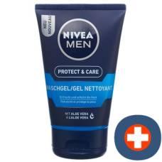 Nivea men protect & care refreshing cleansing gel 100 ml