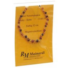 Mainardi natural amber 32cm color magnetverschl