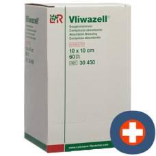 Vliwazell absorbent dressing 10x10cm sterile 60 pcs