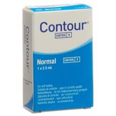 Contour control solution normal 2.5 ml