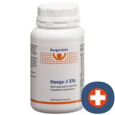 Burgerstein Omega-3 EPA Kaps 100 pcs