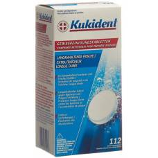 Kukident cleaning tabs comp lasting freshness 112 pcs