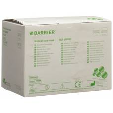 Barrier op mask special type ii green tie bands 60 pcs