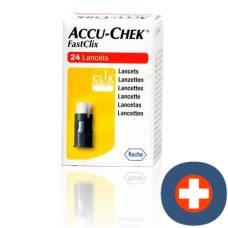 Accu-chek fastclix lancet 4 x 6 pcs