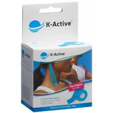 K-active kinesiology tape classic 5cmx5m blue water repellent