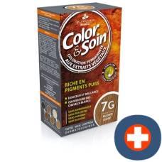 Color & soin coloration 7g blond doré 135 ml