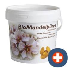 Soyana almond puree raw food quality organic 1 kg