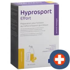 Hyprosport effort plv lemon 14 x 30g