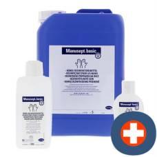 Manusept basic hand disinfection lt canister 5