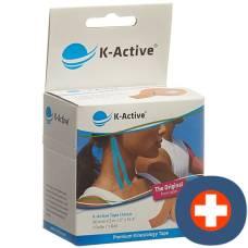 K-active kinesiology tape classic 5cmx5m beige waterproof 6 pcs