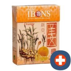 Ibons ginger candy orange box 60 g