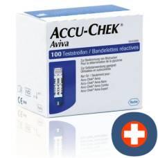 Accu-chek aviva test strips 2 x 50 pcs