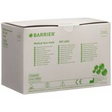 Barrier op masks basic green type ii binding 50 pcs