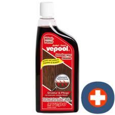 Vepool furniture polish liq dark 300 ml