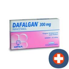 Dafalgan supp 300 mg of 10 pcs