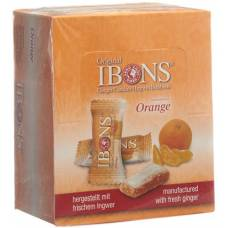 Ibons ginger candy display orange 12x60g