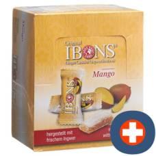 Ibons ginger candy display mango 12x60g