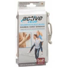 Active color thumbs-hand bandage l skin