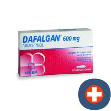 Dafalgan supp 600 mg of 10 pcs