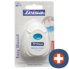 Trisa dental floss 40m easy waxed
