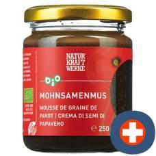 Natural power plants mohnsamenmus bio / organic 250 g