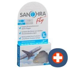Sanohra fly earplugs adults 2 pcs