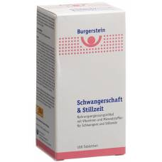 Burgerstein Pregnancy & Lactation tablets 100 pcs