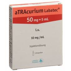 Atracurium labatec inj lös 50 mg / 5 ml 5 ml 5 amp