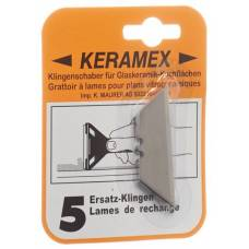 Keramex replacement blades 5 pcs