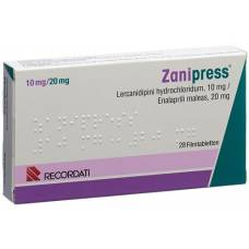 Zanipress filmtabl 10/20 mg 28 pcs