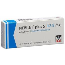 Nebilet plus filmtabl 5 / 12.5 mg 28 pcs