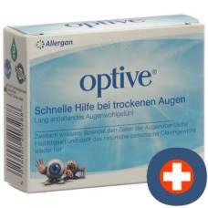 Optive eye care drops 3 bottles 10ml