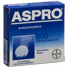 Aspro brausetabl 500 mg of 20 pcs
