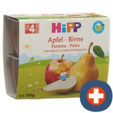 Hipp fruit break apple pear 4 x 100 g