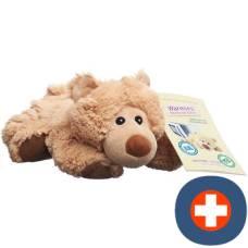 Beddy bear heat stuffed toy bear lying william