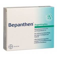 Bepanthen eye drops monodose 20 x 0.5 ml