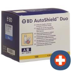 Bd auto shield duo safety pen needle 8mm 100 pcs