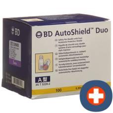 Bd auto shield duo safety pen needle 5mm 100 pcs