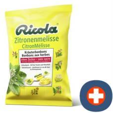 Ricola lemon balm herbal sweets without sugar bag 125 g