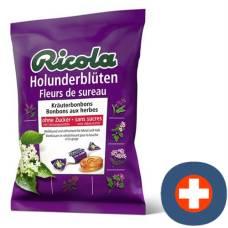 Ricola elderflower candies without sugar with stevia battalion 125 g